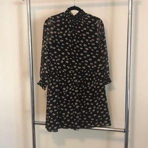 Mock Neck Madewell Dress